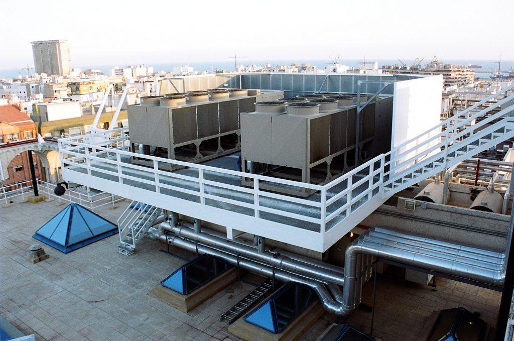 Instalación en plataforma