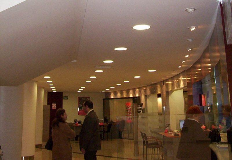 Instalacion Clima Oficina bancaria